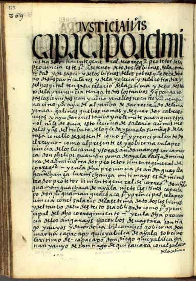El teniente andino del corregidor, pág. 823