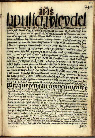 Indigenous corvée labor, mita (862-863)