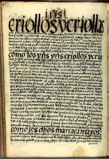Indios haraganes, jugadores y ladrones, pág. 871