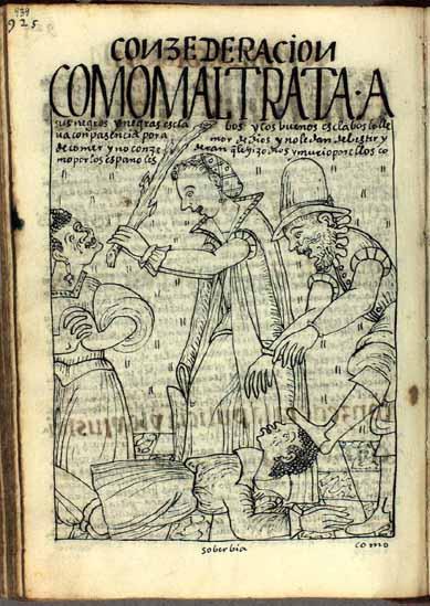 Cómo los españoles maltratan a sus esclavos africanos (pág. 939)