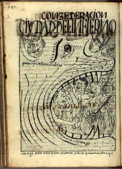 La ciudad del infierno, el castigo de los pecadores soberbiosos (pág. 955)