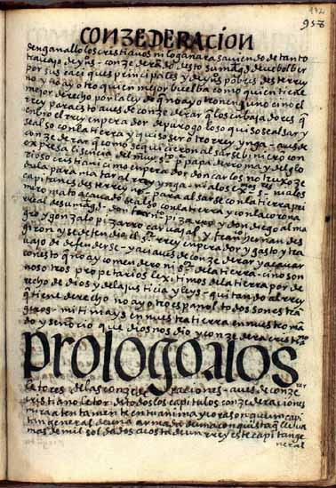 Prólogo a los lectores de las consideraciones, pág. 972