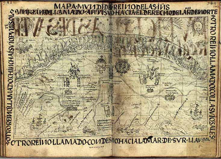 Mapa Mundi of the Indies of Peru (1000-1003)