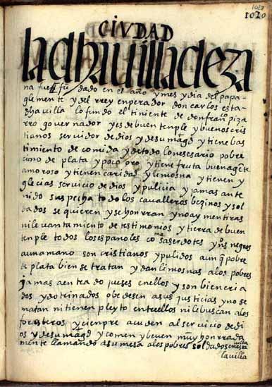 La villa de Zaña, pág. 1028