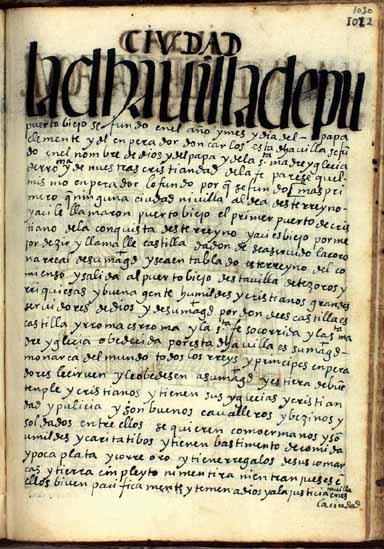 La villa de Puerto Viejo, pág. 1030