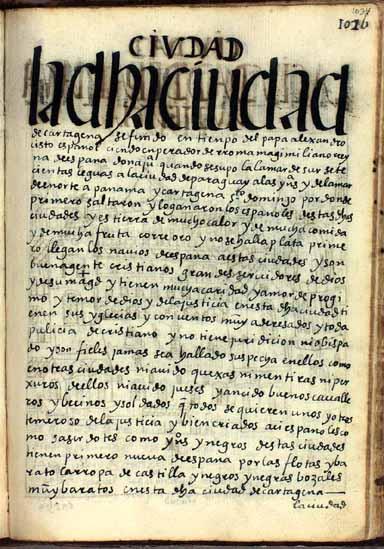 La ciudad de Cartagena, pág. 1034
