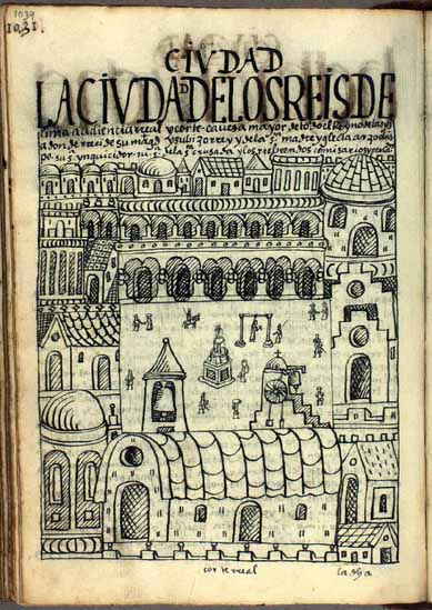 The City of the Kings of Lima, royal high court, principal city of the kingdom of the Indies, residence of the viceroy, and archbishopric of the church (p.1039)