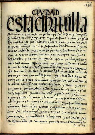 La villa de Camaná, pág. 1044
