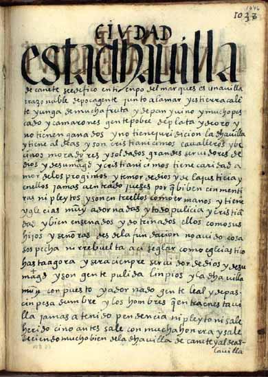 La villa de Cañete, pág. 1046