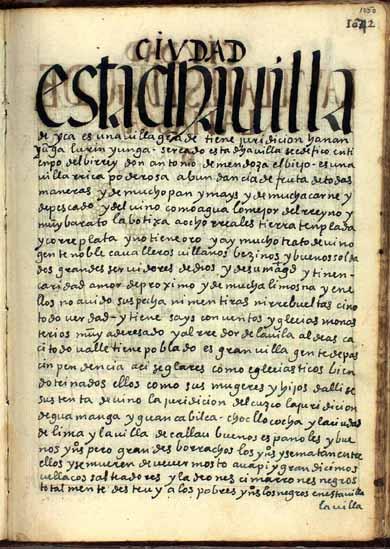 La villa de Ica, de los mejores vinos, pág. 1050