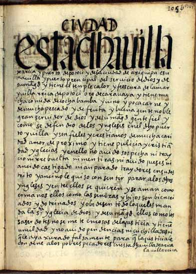La villa de Arica, pág. 1064