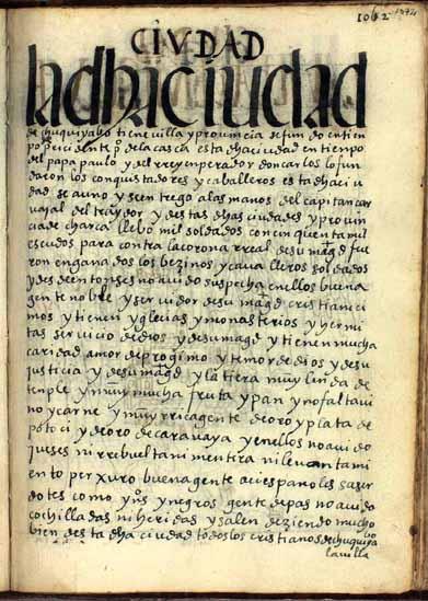 La ciudad de Chuquiyabo, pág. 1072