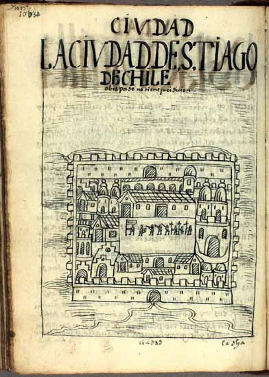 The city of Santiago de Chile, bishopric (1075-1076)