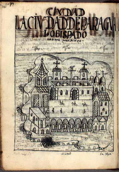 The city of Paraguay, bishopric (p.1081)