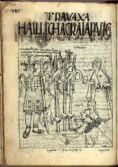 Agosto, tiempo de abrir las tierras, pág. 1162