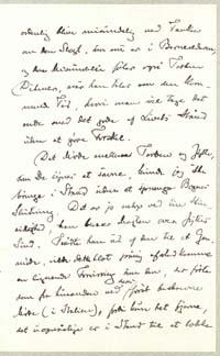 Henrik Pontoppidan til Vilh. Andersen 28.12.1916.