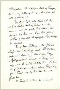 Henrik Pontoppidan til Vilh. Andersen 11.6.1917. Brev - side 2