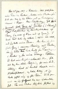 Henrik Pontoppidan til Vilh. Andersen 11.6.1917. Bilag - forside