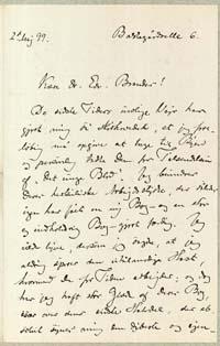 Henrik Pontoppidan til Edvard Brandes 2.5.1899.