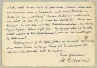 Henrik Pontoppidan til Elias Bredsdorff 9.6.1933.