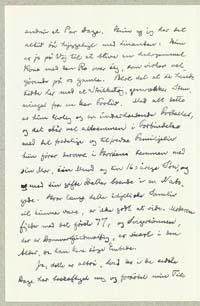 Henrik Pontoppidan til Martinus Galschiøt 3.11.1933.