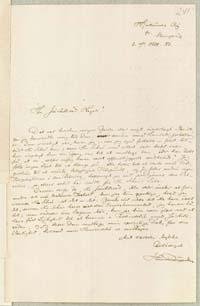 Henrik Pontoppidan til Frederik V. Hegel 9.10.1883.