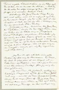Henrik Pontoppidan til Frederik V. Hegel 2.2.1884.