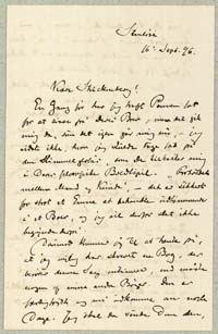 Henrik Pontoppidan til Viggo Stuckenberg 16.9.1896.