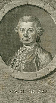 Portræt af Carlo Gozzi. Klik for større billede