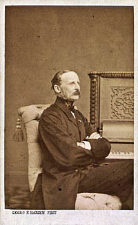Portræt af Herman Løvenskjold. Klik for større billede
