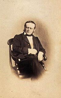 Portræt af H.H. Nyegaard. Klik for større billede