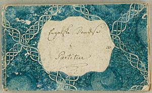 Forsiden af bindet til en af Bülows dansebøger med engelskdanse