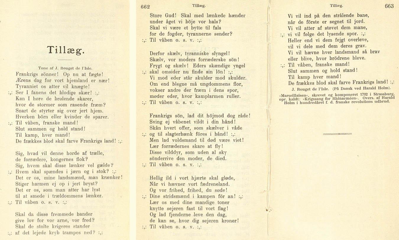 hvem har skrevet nationalsangen