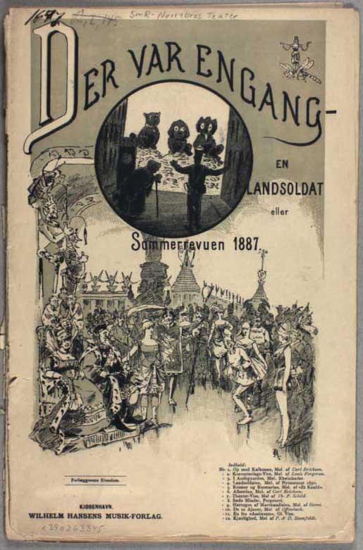 451de9505b20 Der var engang en Landsoldat eller   Sommerrevuen 1887